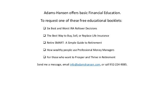 basic financial education
