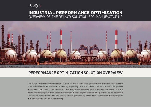Relayr Iot Solutions Industrial Performance Optimization