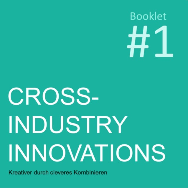 "Book Review #1 ""Cross Industry Innovations"""