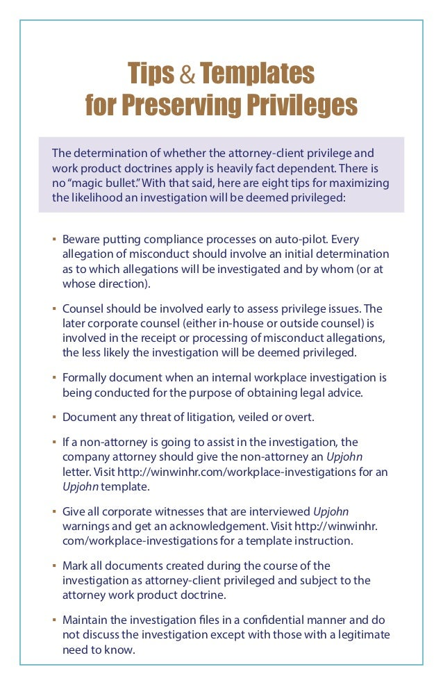 Workplace Investigations Group - 2015 Directory