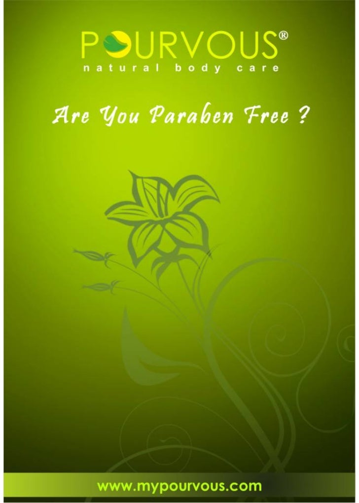 Are You Paraben Free ?