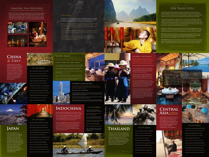 mandarin journeys asia luxury travel booklet