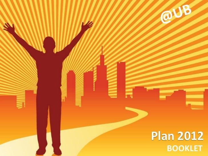 Plan 2012  BOOKLET