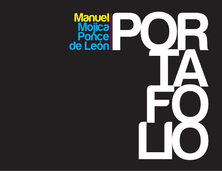 POR Manuel Mojica Ponce           TAde León           FO           LIO