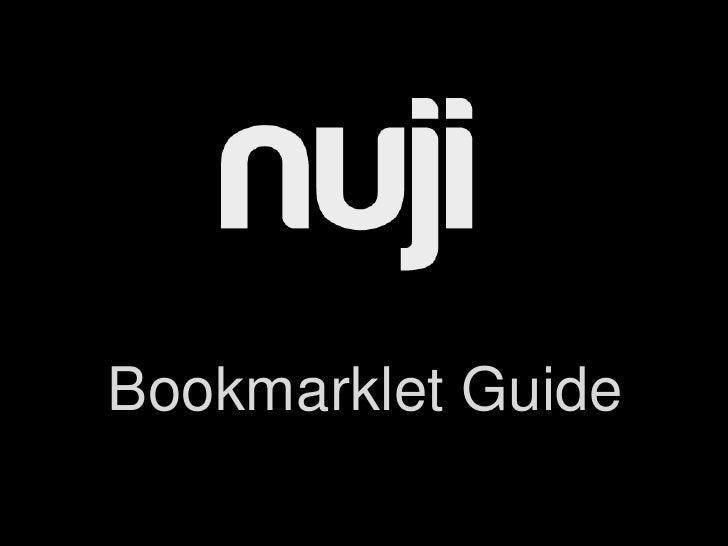 Bookmarklet Guide<br />