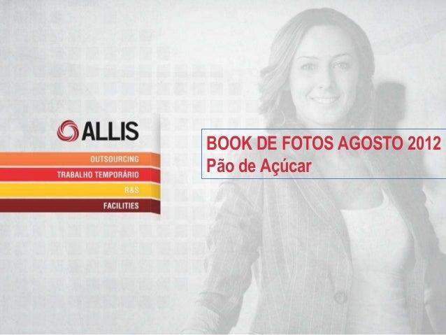 BOOK DE FOTOS AGOSTO 2012Pão de Açúcar