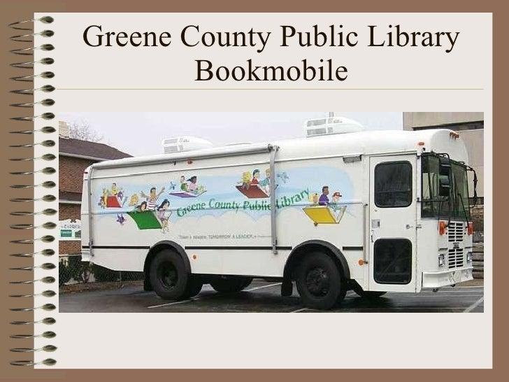 Greene County Public Library Bookmobile