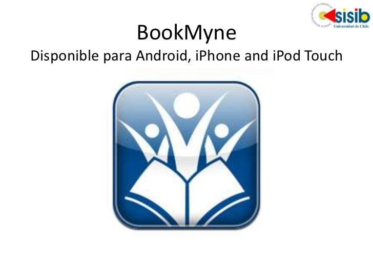 BookMyneDisponible para Android, iPhone and iPod Touch