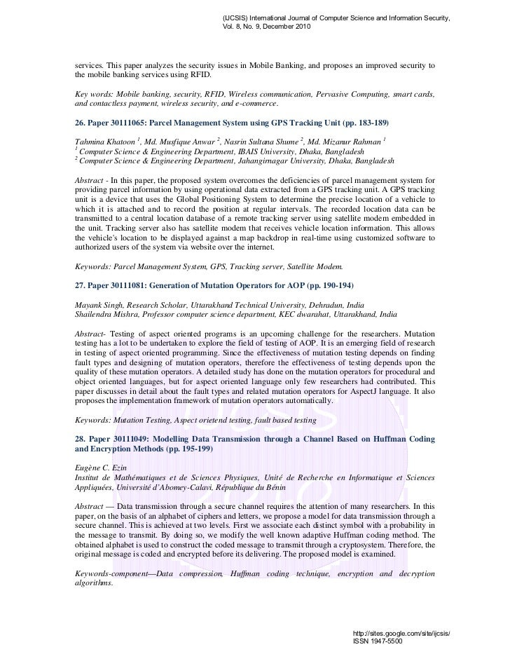 research paper on encryption techniques This paper focuses on steganography research and development in muslim world  using self-embedding techniques  cryptography deals message encryption but the.