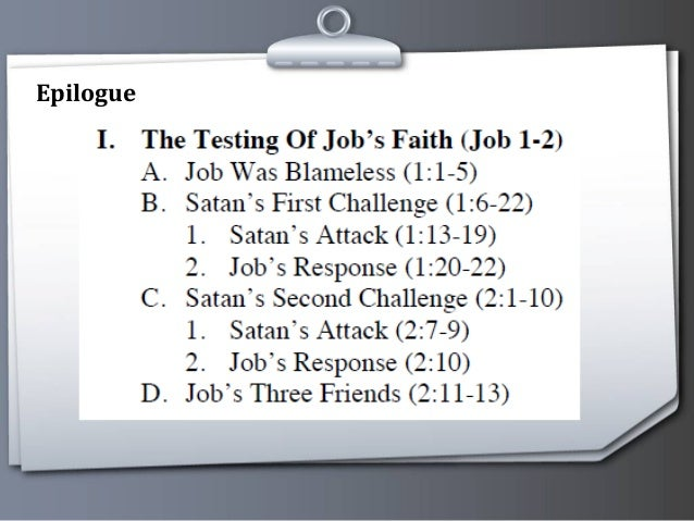 bible study on book of job
