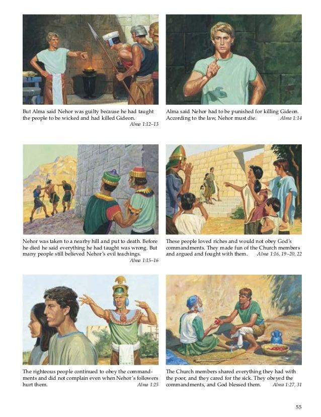 Book of mormon stories