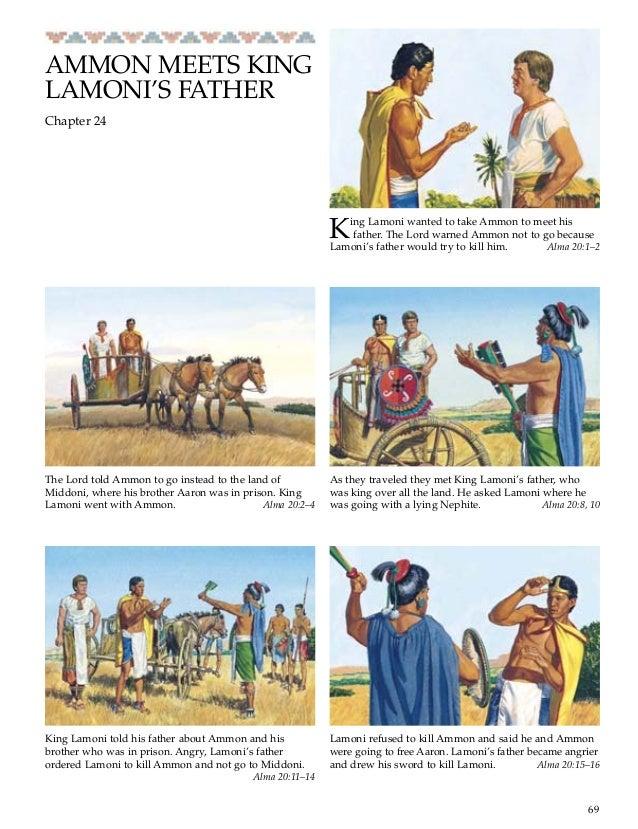 AMMON MEETS KING LAMONIS FATHER