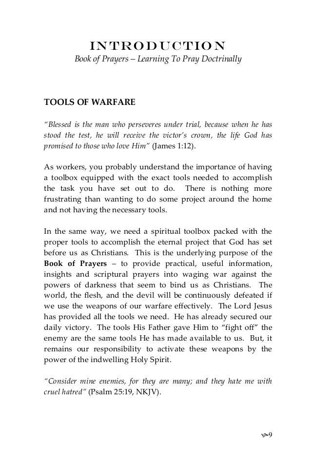 Book Of Prayers 2012 (E)
