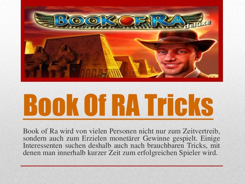 Book Of Ra Cheats Tricks