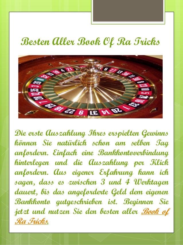 book of ra online casino trick