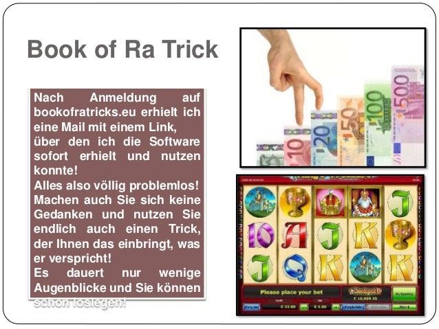 book of ra risiko trick