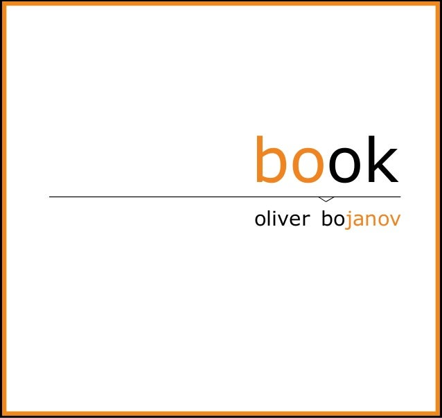 book oliver bojanov