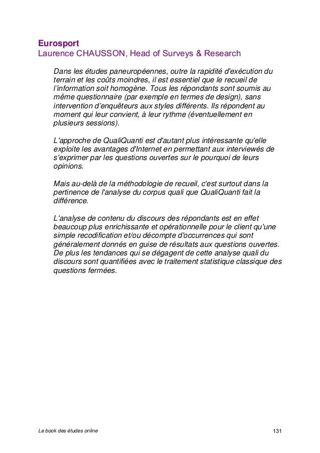 Bookonline, livre blanc sur les études par internet by QualiQuanti