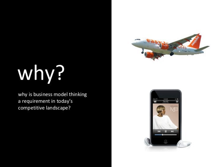 why? why is business model thinking a requirement in today's competitive landscape?
