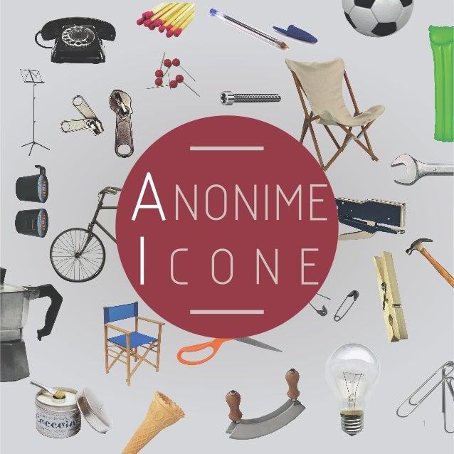 1 ANONIME I C O N E