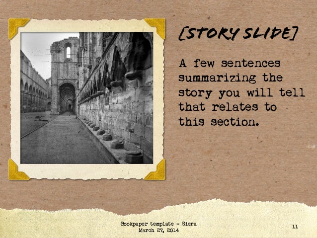 story book powerpoint template