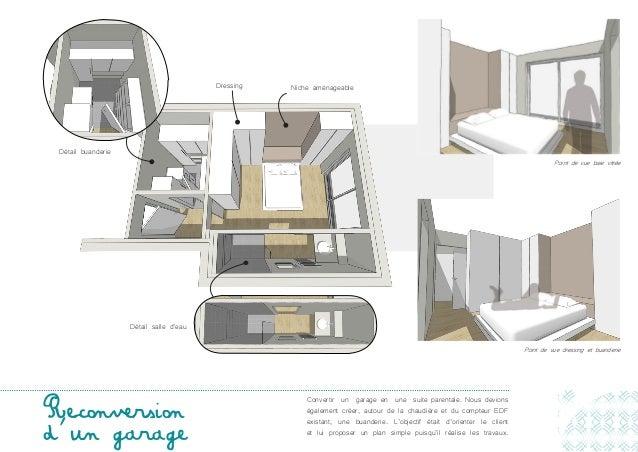 Portfolio for Transformer son garage en suite parentale