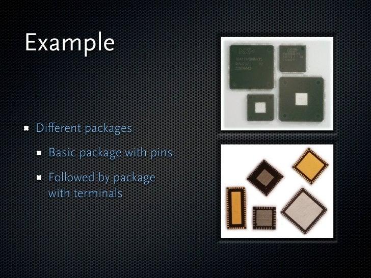 Example  Wafer maps   Basic functionality   Intermediate   functionality   Advanced functionality