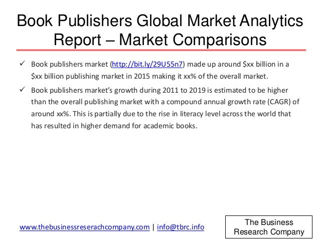 book publishing market report In need book publishing of industry data industry statistics are available in  these ibisworld australia market research reports view it here today.