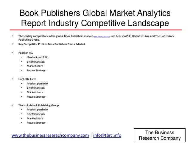 book publishing in the us market research report About us research services gis mapping  the book publishing market,  as annual reports that act as a resource illustrating growth trends in the book market 5.
