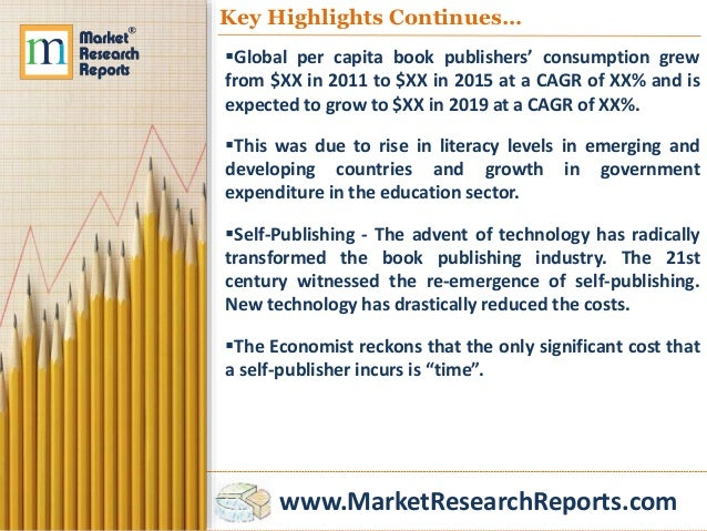 global book publishing market research report In need book publishing of industry data industry statistics are available in these ibisworld australia market research reports view it here today.