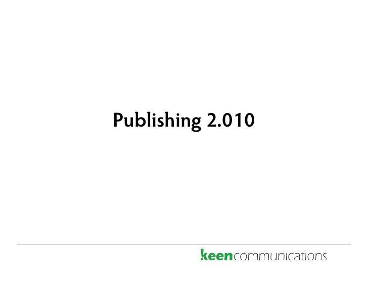 Publishing 2.010
