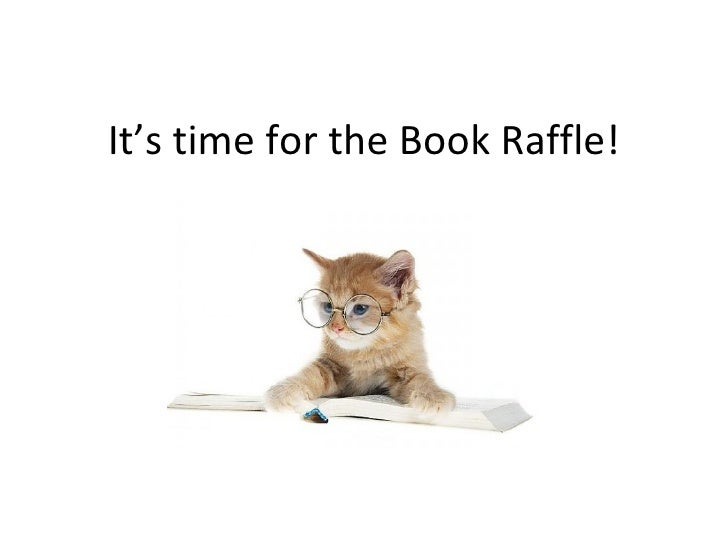It's time for the Book Raffle!