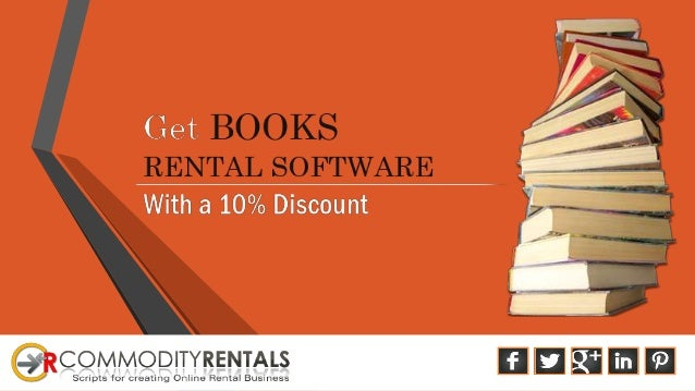 About Book Rental Software Developer Company  Commodityrentals Book Rental Management Software contains Characteristics i...