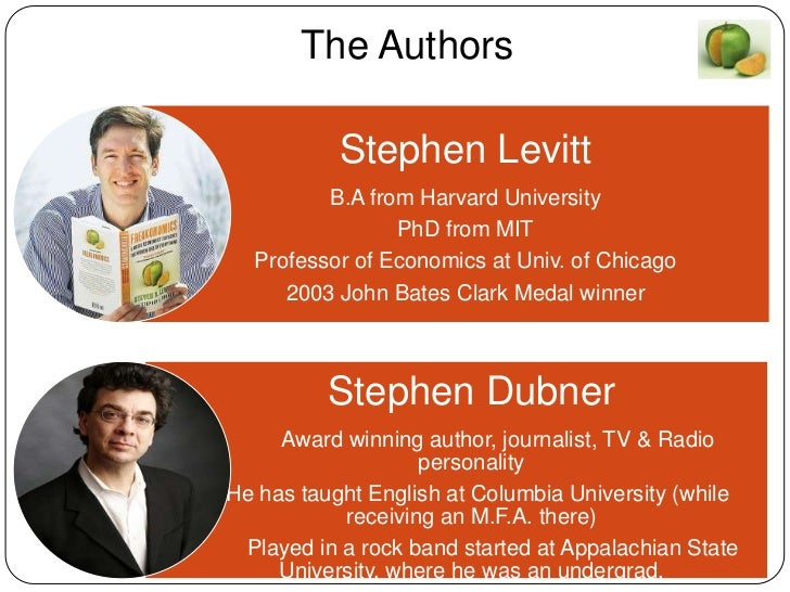 freakonomics book report Thus the new field of study contained in this book: freakonomics through forceful  storytelling and wry insight, levitt and co-author stephen j dubner show that.