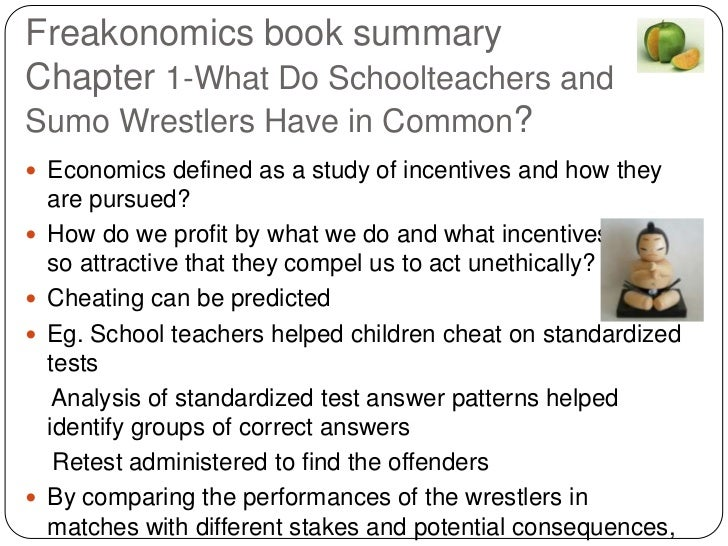 freakonomics what do school teachers and We organized the material in this guide to help you identify the key points in each chapter and to  advantaged school  demand curve for teachers to shift.