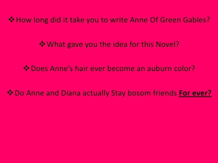 anne of green gables book report Immediately download the anne of green gables summary, chapter-by-chapter analysis, book notes, essays, quotes, character descriptions, lesson plans, and more.