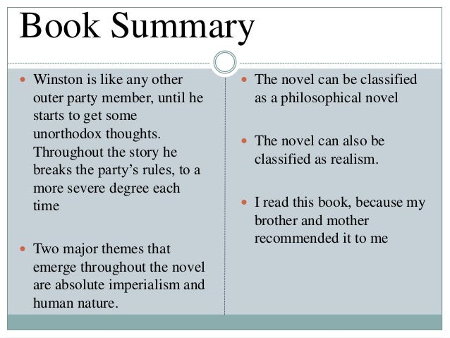 book report example story