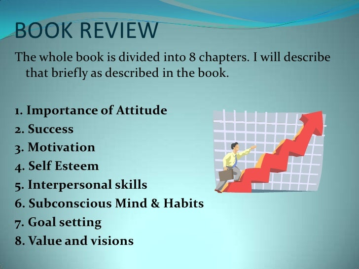 BOOK REVIEW<br />The whole book is divided into 8 chapters. I will describe that briefly as described in the book.<br />1....