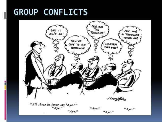 Group Conflicts 41