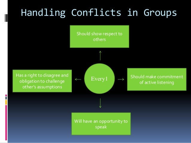 Group Conflicts 12