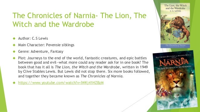 chronicles of narnia study guides