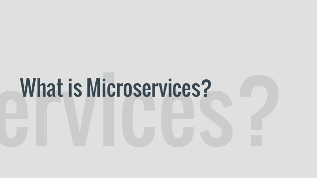 Building Microservices: Designing Fine-Grained System by