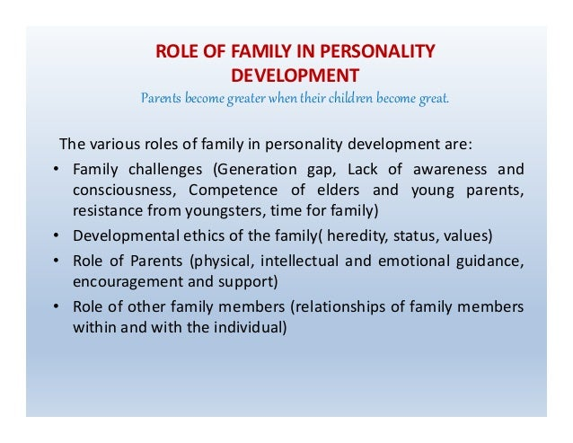 personality intellectual development How physical, cognitive, and emotional development influence one  focus  specifically on identity and personality development in adulthood.
