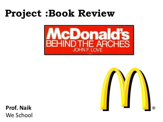 Project :Book Review Prof. Naik We School