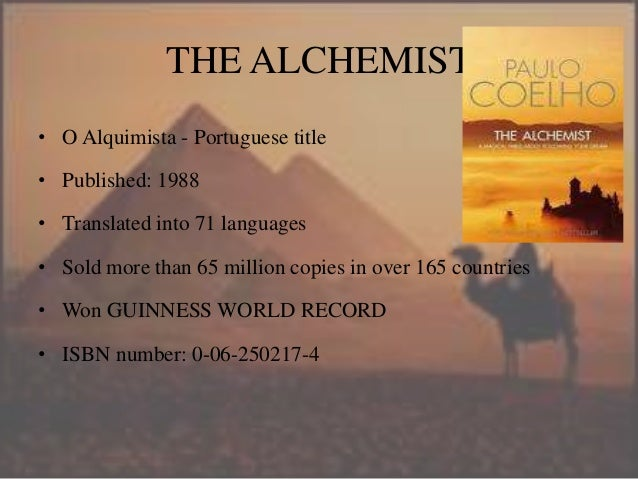 book review the alchemist characters•