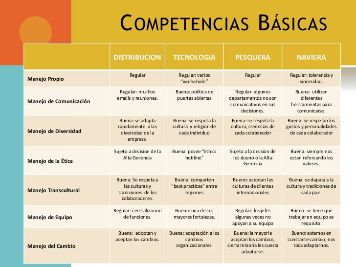 CompetenciasBásicas<br />