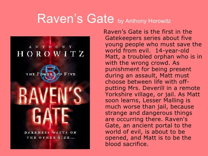 Reasons Ravens Gate Book Report milling machine