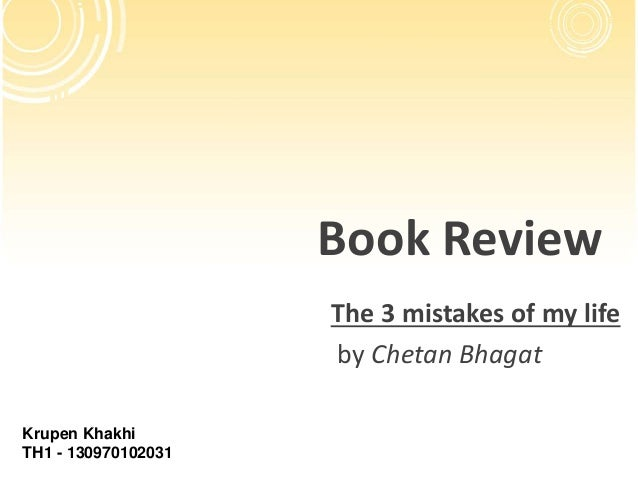 My mistakes bhagat free download of ebook 3 chetan life