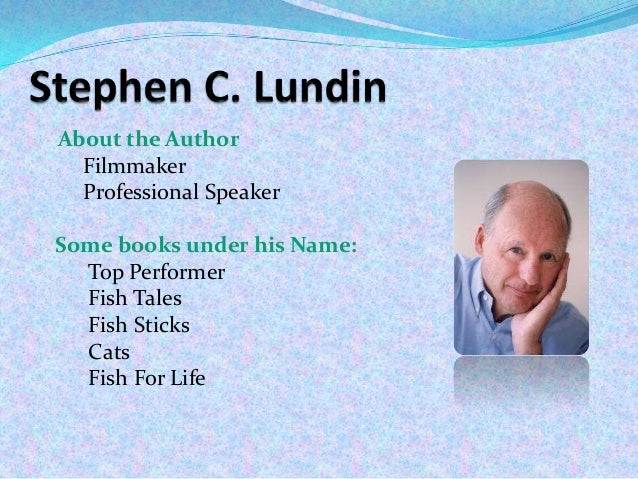 fish book stephen lundin pdf