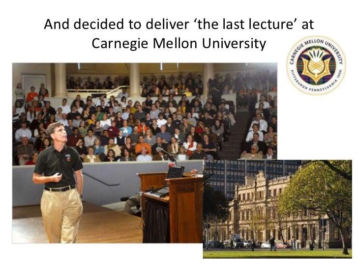 the last lecture book pdf